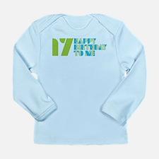Happy Birthday 17 Long Sleeve Infant T-Shirt