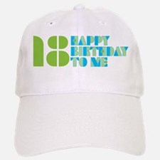 Happy Birthday 18 Baseball Baseball Cap