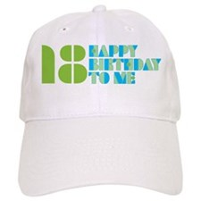 Happy Birthday 18 Baseball Cap