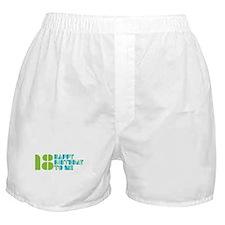 Happy Birthday 18 Boxer Shorts
