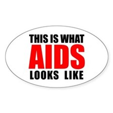 What AIDS looks like Decal