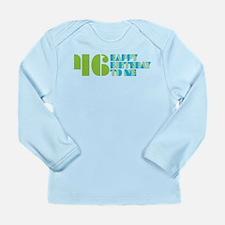 Happy Birthday 46 Long Sleeve Infant T-Shirt