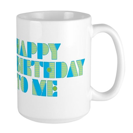 Happy Birthday 60 Large Mug