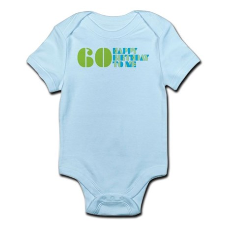 Happy Birthday 60 Infant Bodysuit