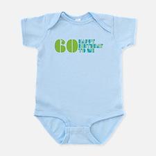 Happy Birthday 60 Infant Bodysuit