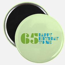 Happy Birthday 65 Magnet