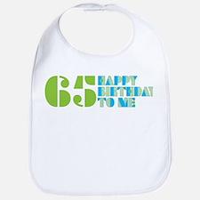 Happy Birthday 65 Bib