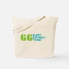 Happy Birthday 66 Tote Bag