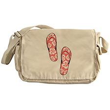 Red Flops Messenger Bag