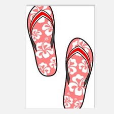 Red Flops Postcards (Package of 8)