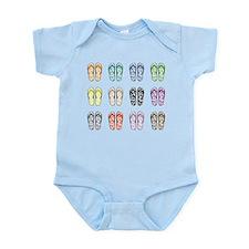 Flippin' Flops Infant Bodysuit