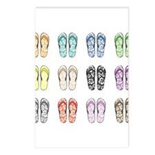Flippin' Flops Postcards (Package of 8)