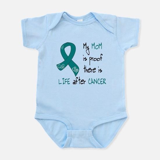 teal mom life.png Infant Bodysuit