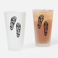Black Flops Drinking Glass