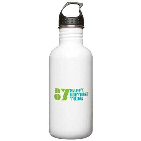 Happy Birthday 87 Stainless Water Bottle 1.0L