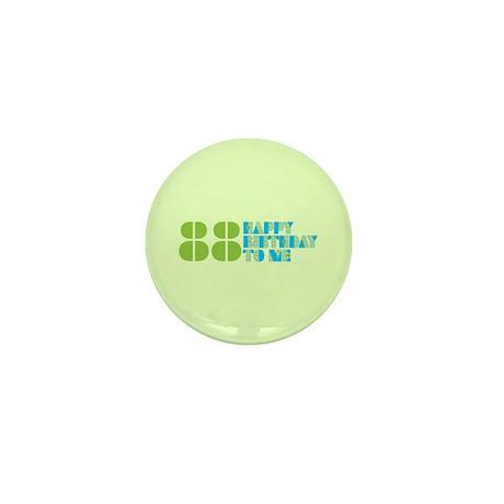 Happy Birthday 88 Mini Button