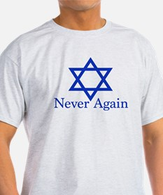 Never Again Jewish T-Shirt