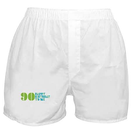 Happy Birthday 90 Boxer Shorts