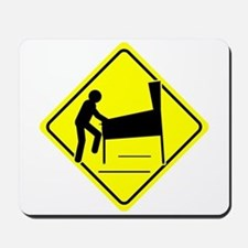 Funny - Caution Pinball Wizard Player Arcade Sign