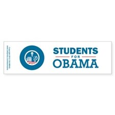 Students for Obama Stickers
