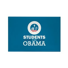 Students for Obama Rectangle Magnet (10 pack)