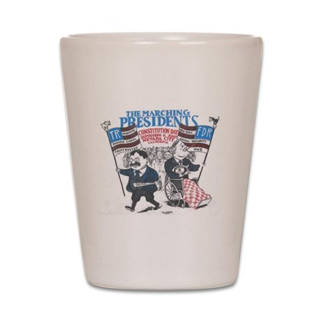 2002 Roosevelts Shot Glass