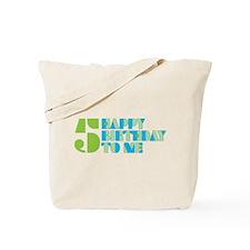 Happy Birthday 5 Tote Bag