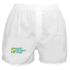 Happy Birthday 5 Boxer Shorts