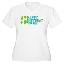 Happy Birthday 5 T-Shirt