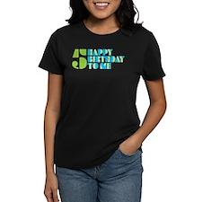 Happy Birthday 5 Tee
