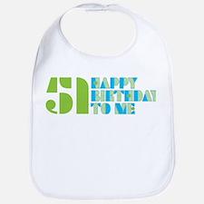 Happy Birthday 51 Bib