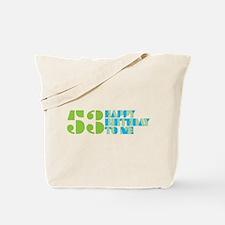 Happy Birthday 53 Tote Bag