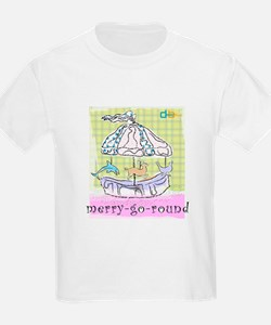Merry-Go-Round Kids T-Shirt