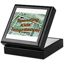 Spending Kids' Inheritance! Keepsake Box