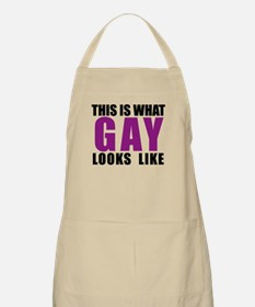 What Gay Looks Like Apron