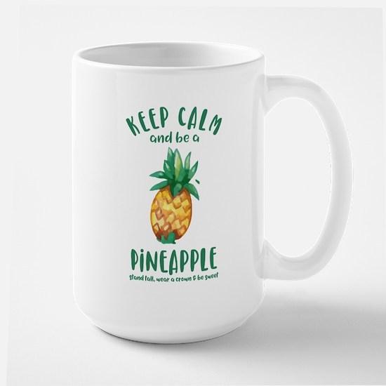 Keep Calm Pineapple Mug
