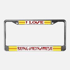 I LOVE BEING VIETNAMESE License Pl Fr 2