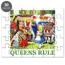 Queens Rule Puzzle