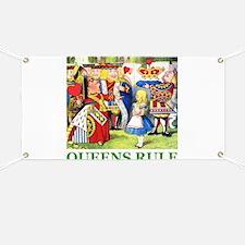 Queens Rule Banner