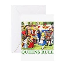 Queens Rule Greeting Card
