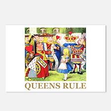 Queens Rule Postcards (Package of 8)