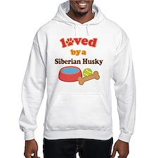 Siberian Husky Dog Gift Hoodie