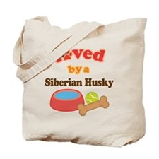 Siberian Husky Dog Gift Tote Bag