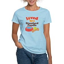 Standard Poodle Dog Gift T-Shirt