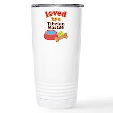 Tibetan Mastiff Dog Gift Travel Mug