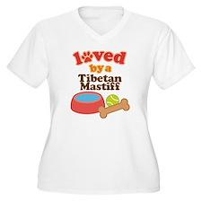 Tibetan Mastiff Dog Gift T-Shirt