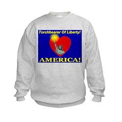 Torchbearer of Liberty Sweatshirt