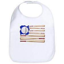 Patriotic Baseball Bib