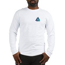 Blended Color Valknut Long Sleeve T-Shirt