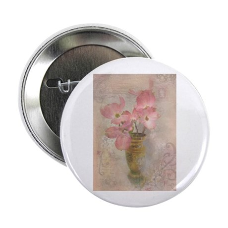 "Pink Dogwood 2.25"" Button (10 pack)"